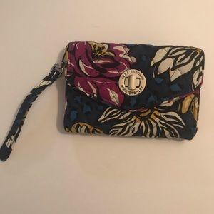 African Violet Wallet Vera Bradley